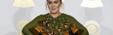 Adele w tym roku zdobyła wiele nagród Grammy