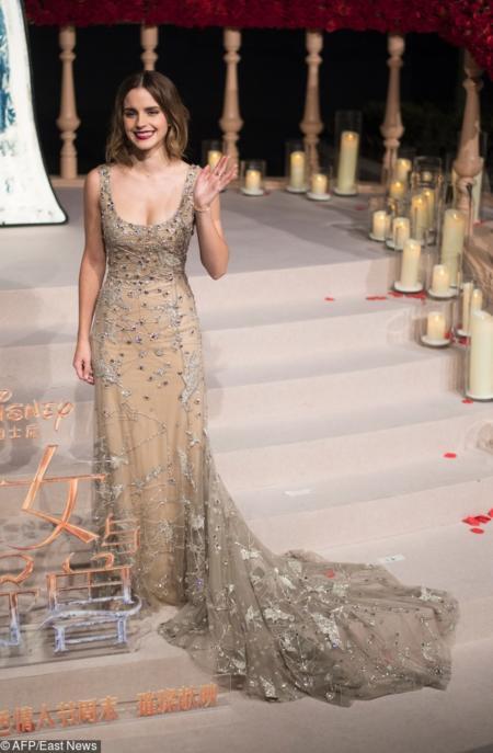 Emma Watson w Szanghaju