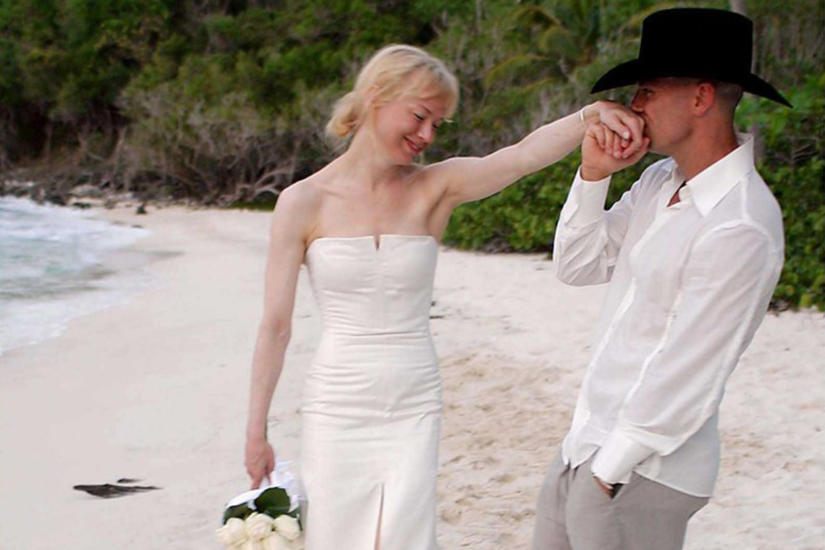 Renée Zellweger i Kenny Chesney