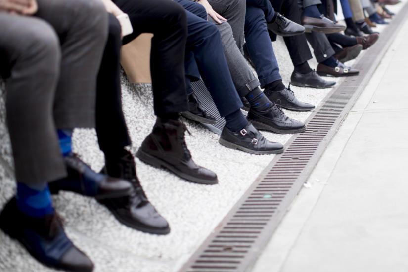 Wypolerowane buty świadczą o elegancji