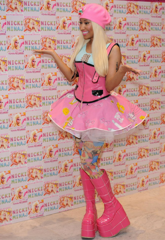 Nicki Minaj to gwiazda,  która uwielbia się wyróżniać, więc wciąż zmienia swój image