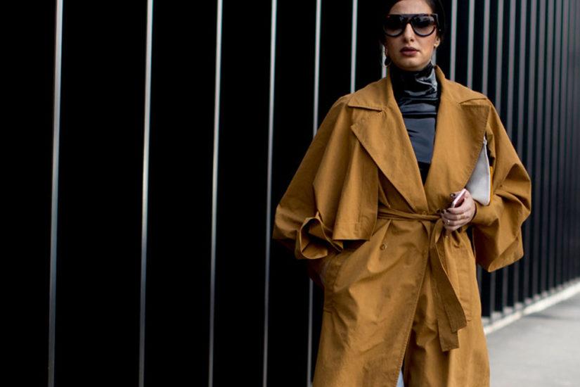 jak nosic wiazany płaszcz
