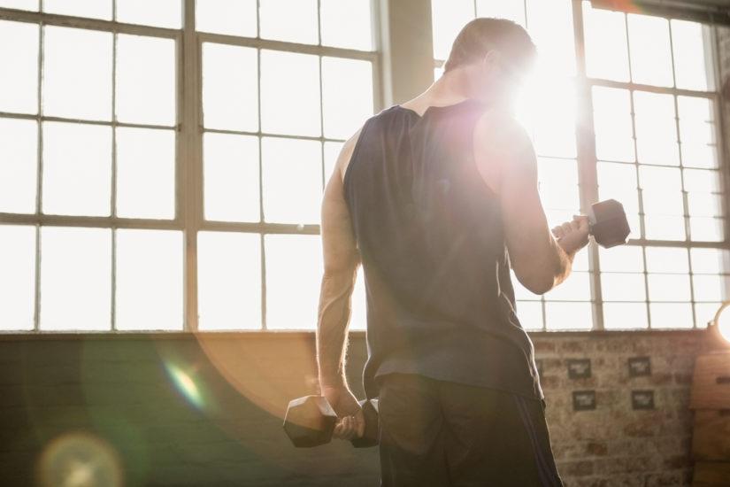 zestaw sportowy na siłownie