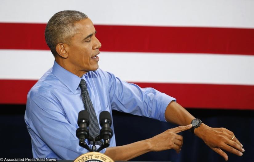 Ulubiony zegarek byłego prezydenta USA