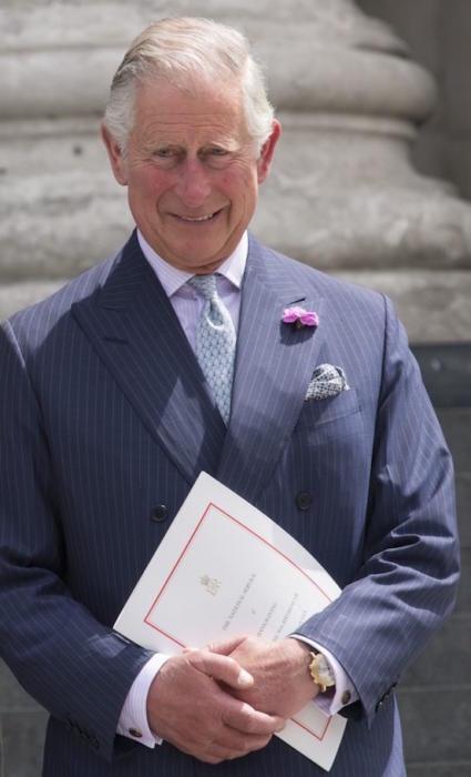 Książę Karol lubi swój zegarek