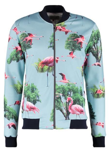 Z flamingami