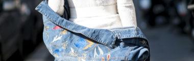 haftowane ubrania w wiosennych stylizacjach