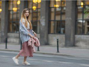 stylizacje blogerek na wiosnę