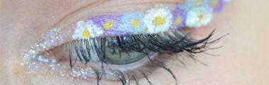 Kwiatowy eyeliner to hit Instagrama