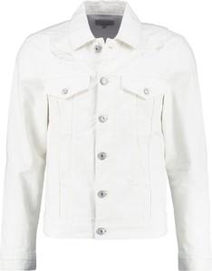 Biała kurtka z jeansu