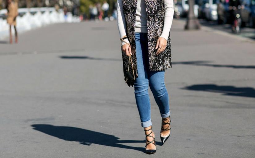 sandały dla niskiej kobiety