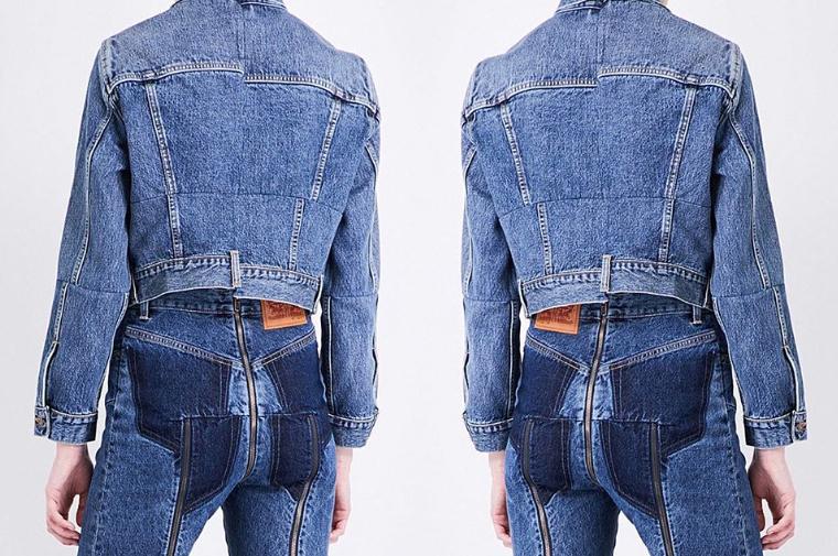 Jeansy z niestandardowym rozporkiem podbijają Instagram