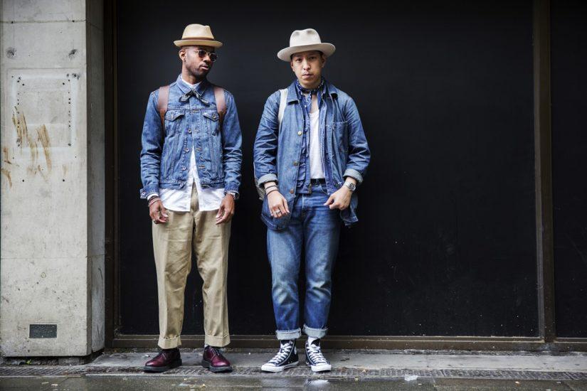 męskie kurtki z jeansu