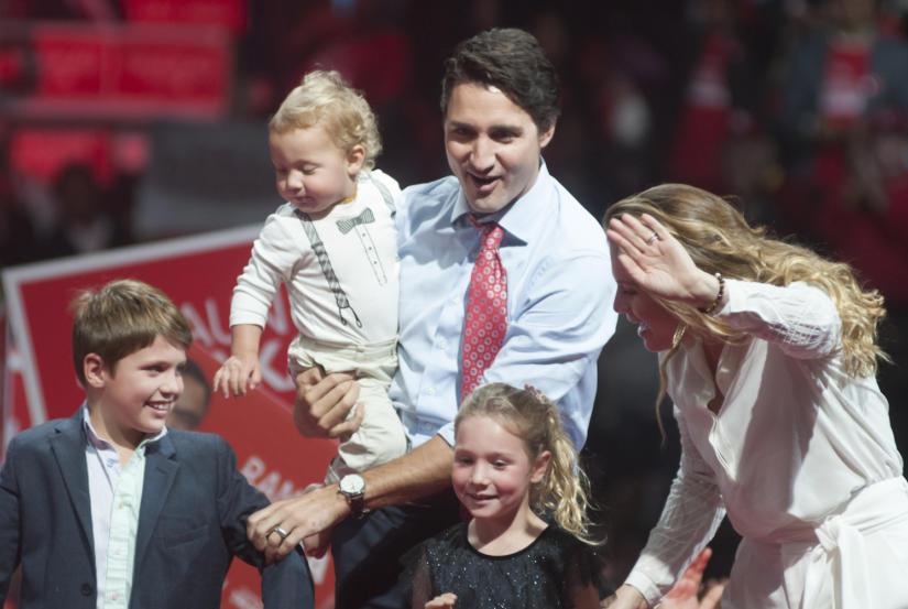 Precyzyjny zegarek Justina Trudeau