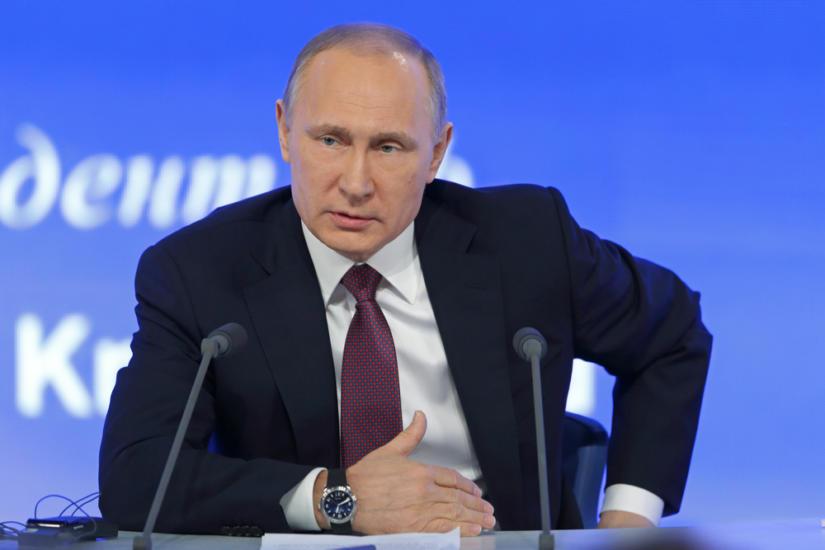 Władimir Putin i jego zegarek
