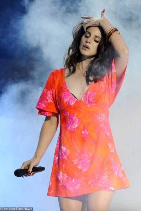 Podczas festiwalu Coachella w 2015 r.
