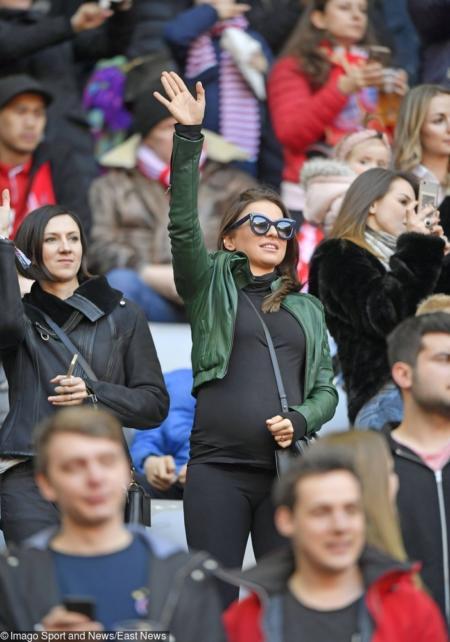 Ania Lewandowska w ciąży stawiała na wygodę