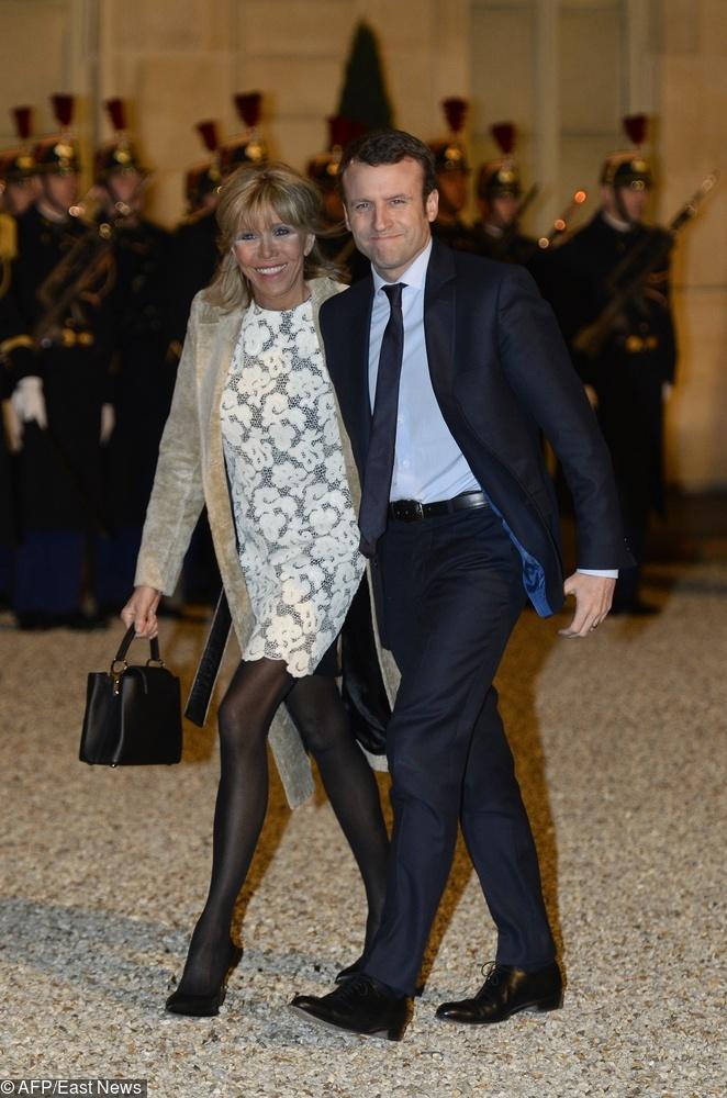 Brigitte Macron w 2016 r.