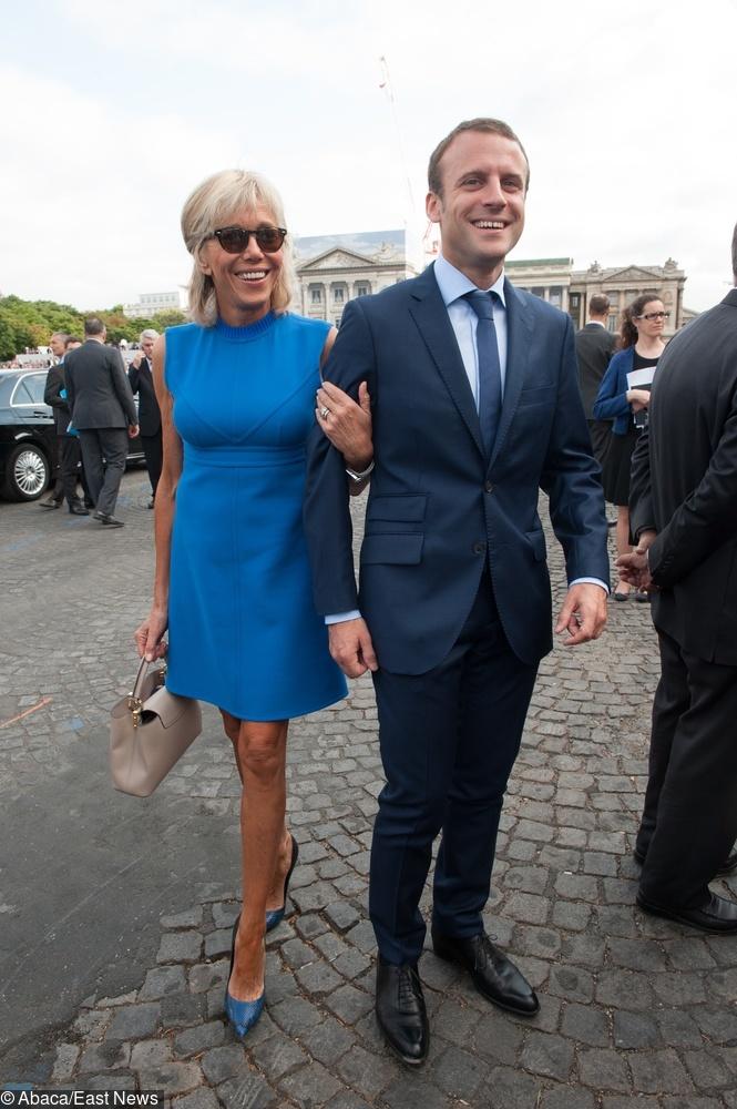 Brigitte Macron w 2015 r.