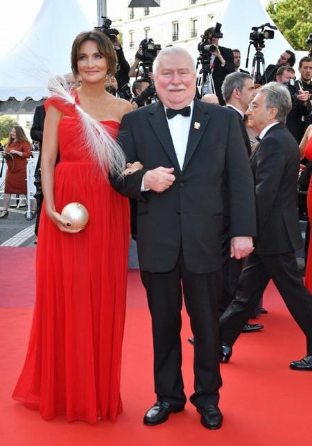 Dominika Kulczyk i Lech Wałęsa