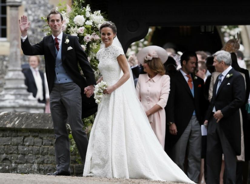 Pippa z mężem Jamesem Matthewsem
