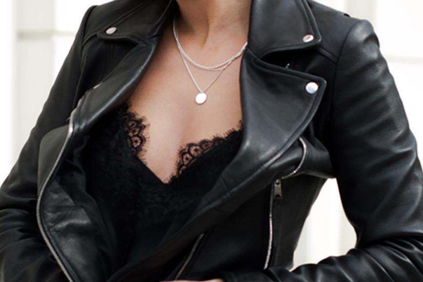 mxagnes total black look