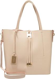 Poręczna torebka z długim paskie