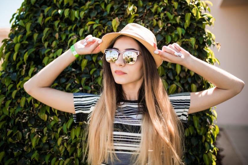 Kapelusz i okulary są obowiązkowe przy mocnym słońcu
