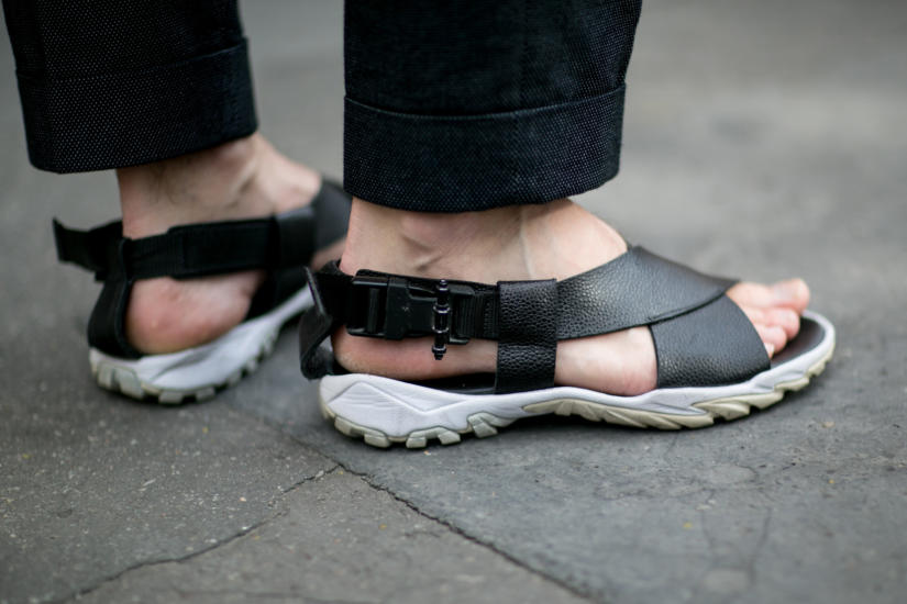 Stopy w sandałach muszą prezentować się nienagannie