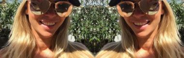 Joanna Przetakiewicz w wakacje lupi postawić na lustrzane okulary