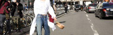 bluzka kopertowo zakładana