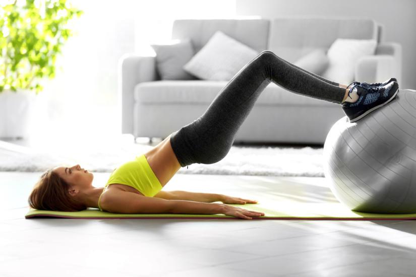 Ćwiczenia możesz również wykonywać w domu