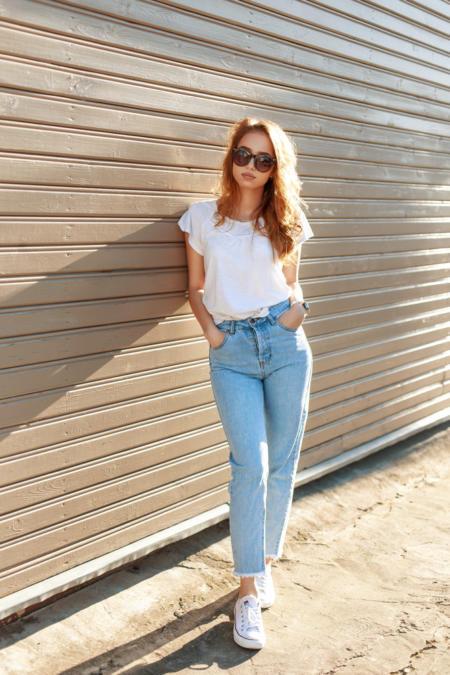 Z mom jeans