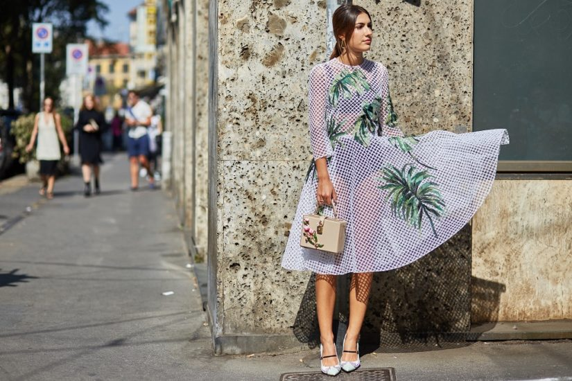 sukienka z siateczki
