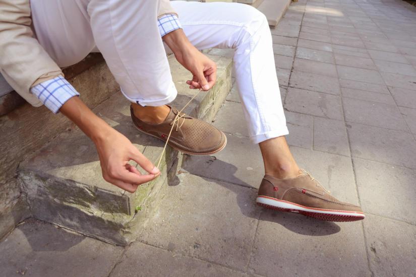 Buty z piankową lub kauczukową podeszwą