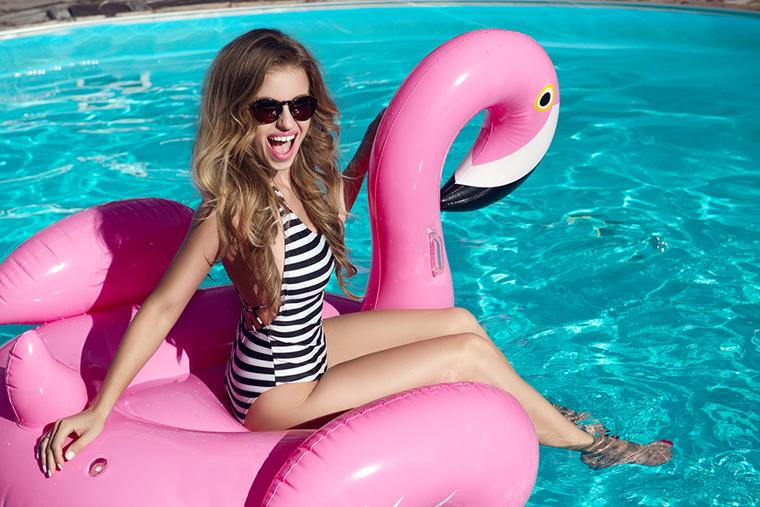 Różowe flamingi to nowy trend na Instagramie