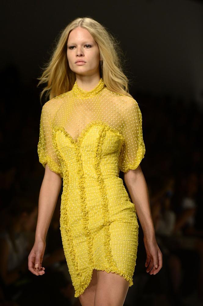 Pokaz mody w Mediolanie