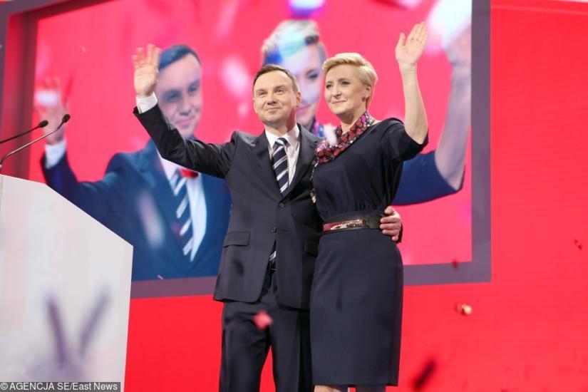 Podczas kampanii Agata Duda oszałamiała swoim stylem