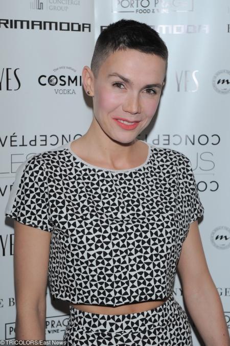 W 2014 r. Olga Bołądź drastycznie ścięła włosy