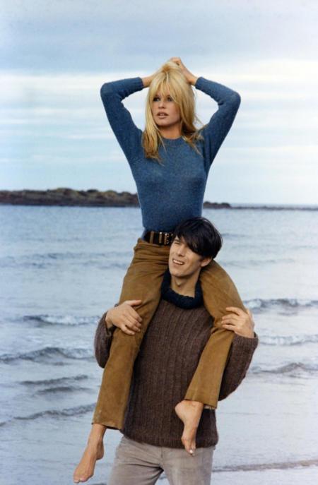 Brigitte Bardot w sesji zdjęciowe