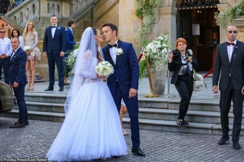 Agnieszka i Dawid pobrali się w Krakowie