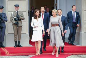 brytyjska para książęca w Polsce
