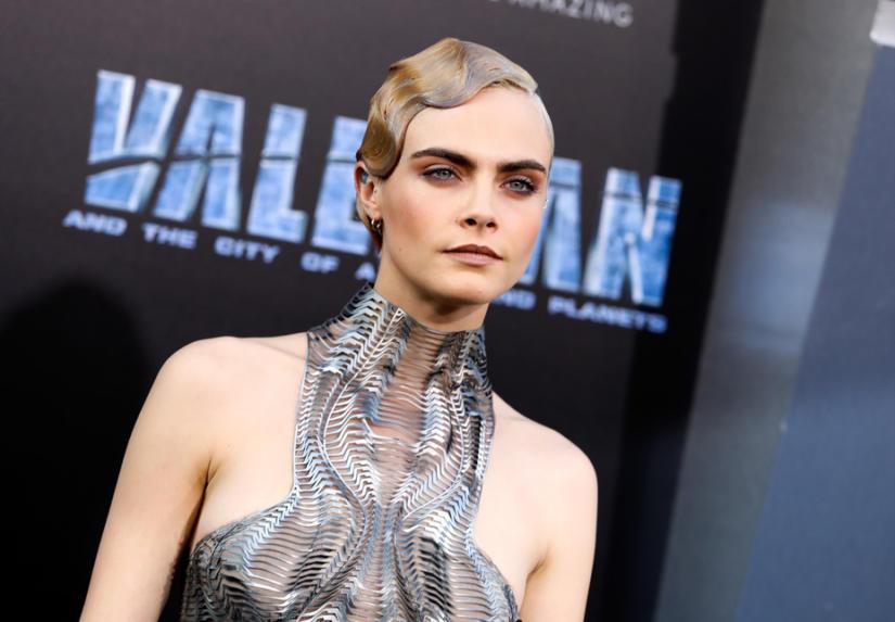 Cara Delevingne na premierze filmu Valerian