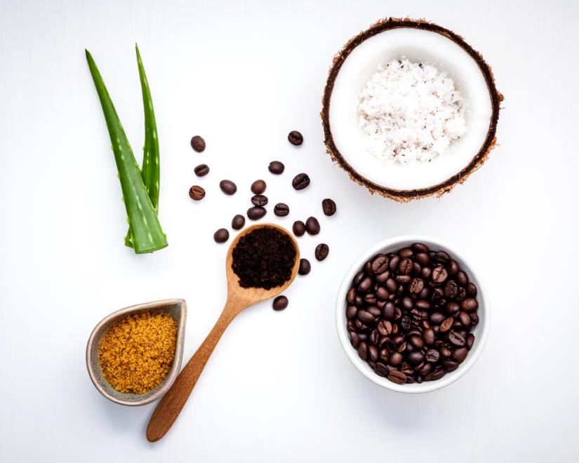Peeling domowy można zrobić z kawy