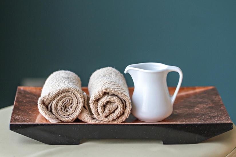 Suchy ręcznik