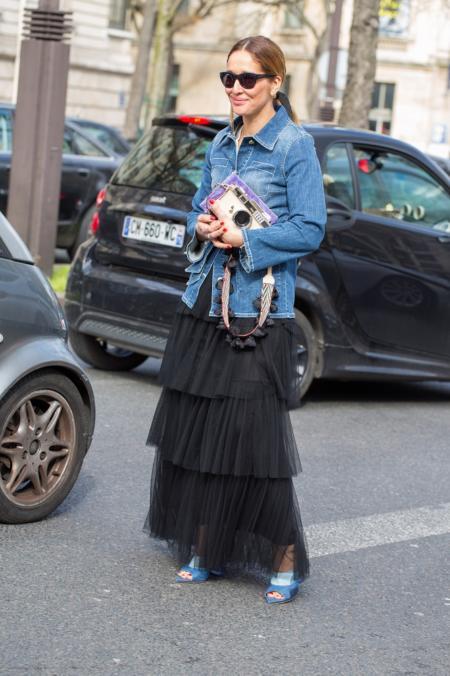 3b221ad5fd Strojne suknie śmiało możemy nosić także za dnia. Fashionistki pokazują