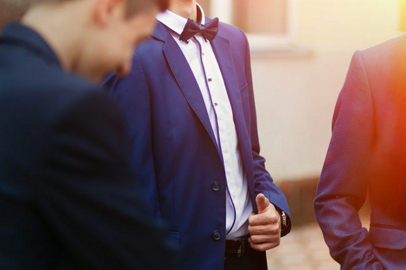 męskie weselne stylizacje
