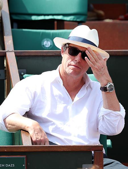 Hugh Grant stawia na włoski styl