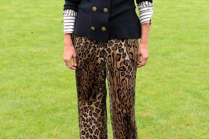 małgorzata foremniak w spodniach w panterkę