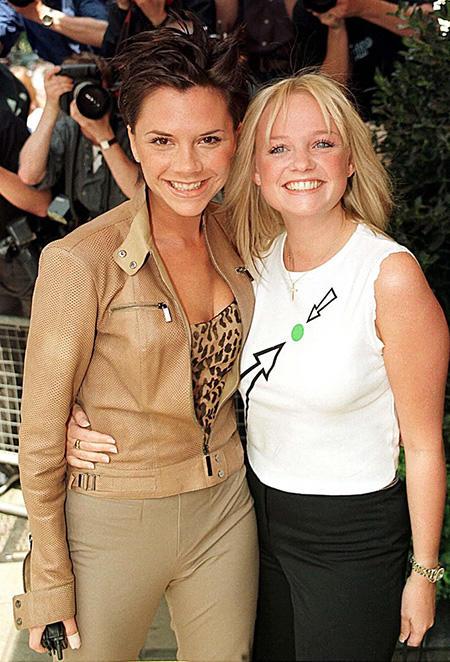 Victoria Beckham i Emma Bunton